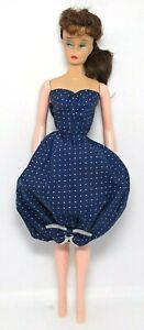 Vintage 1959 Mattel Barbie Gay Parisienne Dress R tag NM