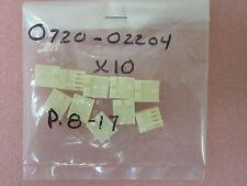 10 AMAT 0720-02204 CONN RCPT EI SERIES 4 POS NATURAL STD F