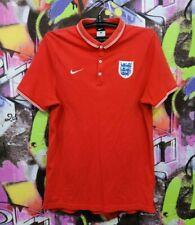England Soccer National Team Football Shirt Jersey Polo Training Top Nike Mens M