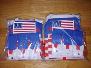 Red White Blue American JPC Tac Vest Large and Extra Large XL