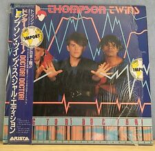 "THOMPSON TWINS Doctor Doctor 1984 Japanese 12"" vinyl single  EXCELLENT CONDITION"