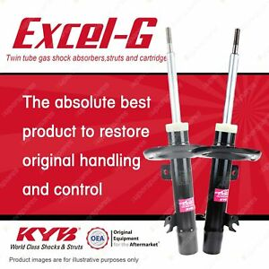 2 x Front KYB Excel-G Strut Shock Absorbers for Peugeot 208 1.2 1.6 FWD