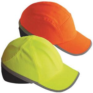 Portwest Hi Vis Bump Cap Safety Work Wear Hard Hat Head Protection Baseball PW79