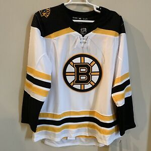New Adidas NHL Boston Bruins Mens Authentic Climalite  Stitched Jersey Men's 56