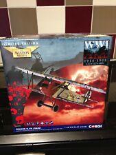 CORGI AA38906 Fokker D.VII Seven Swabians Wilhelm Scheutzel Jasta 65 MIB NEW
