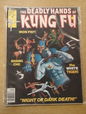 DEADLY HANDS OF KUNG FU #31 1976 DEC VF CURTIS US MAGAZINE SHANG-CHI WHITE TIGER