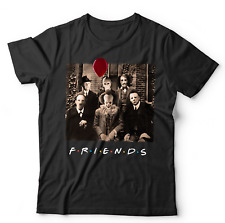 Friends Horror Tshirt - Penny - Myers - Freddie - Halloween