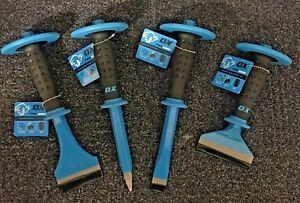 OX PRO SERIES CHISEL - VARIOUS TO SELECT - Brick - Concrete - Floor - Cold