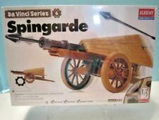 "New Academy Da Vinci Series "" Spingarde "" Retractable Cannon Launcher No.18142"