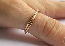14k Gold Interlocking Thumb Rings,Stacking Rings,Minimalist Rings,Unique SJR0303