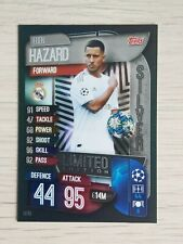 MATCH ATTAX 19/20 RARE EDEN HAZARD SILVER LIMITED EDITION LE3S - MINT