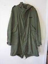 Vintage US Army Uniform M-1951 Fishtail Parka Jacket M-51 Korea Vietnam