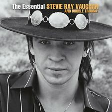 STEVIE RAY VAUGHAN & DOUBLE TROUBLE  - THE ESSENTIAL  VAUGHAN  2 VINYL LP NEUF