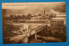 Meurthe et Moselle 54 Lorrain CPA Herserange 1910-30 Usines de Senelle Laminoirs