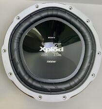 """Sony XS-L124P5B, 12"""" 4-ohm Subwoofer, 1,300 Watt"""