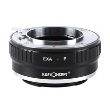 K&F Concept adapter for Exakta mount lens to Sony E mount NEX A72 A7R A9 KF-EXAE