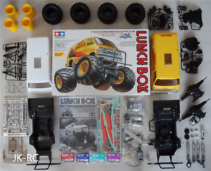 Choice Of New Spare Parts For 'Tamiya Lunch Box 58347' (Lunchbox)