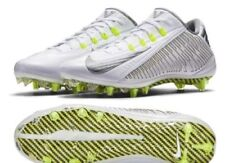 NIKE CARBON VAPOR ELITE TD FOOTBALL CLEATS SIZE 16 WHITE SILVER VOLT 631425-101