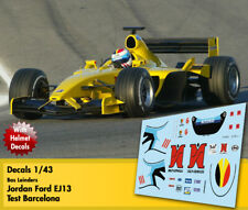 Decals 1/43 - F1 - Bas Leinders - Jordan Ford EJ13 - Test 2003