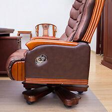 PVC Rectangle Home Office Chair Floor Pad Mat Carpet Protective Film Cushion Ca