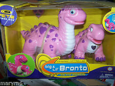 BIG & LIL BRONTO INFRARED INTERACTIVE WALKING PETS NEW MISB C PETS CYBER ZOO
