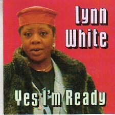 soul funk jazz cd LYNN WHITE YES I'M READY  RARE PRO