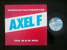 "12"" Maxi Dance Single Harold Faltermeyer- Axel F (MCA 1984)"