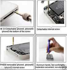 Opening Tool kit/Screwdriver Set For iPhone 4,5,other mobiles