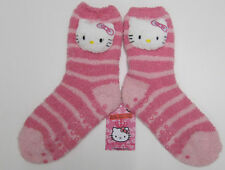 HELLO KITTY Chaussettes Chaussons rose filles 7 - 10 ans