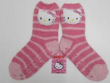 Hello Kitty Hausschuhsocken rosa Mädchen 7 - 10 Jahre