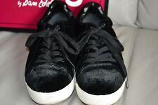 Circus Sam Edelman Women's Size 8 Black Velvet Low Top Sneaker