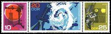 EBS East Germany DDR 1968 Potsdam Meteorological Observ Michel 1343-1345ZD MNH**