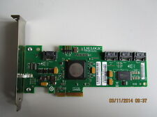 LSI SAS3041E RAID 0 1 1E 10E Controller 4xS-ATA PCIeX4 3GB/s 4 Kanäle
