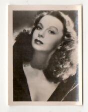 Elfe Gerhart 1951 Greiling Film Star Series E Cigarette Card #8