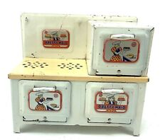 Pretty Maid Marx Litho Toy Electric Stove 1930s