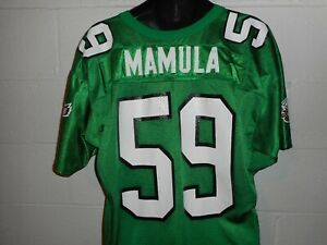 Vintage 90s Wilson Mike Mamula #59 Philadelphia Eagles Jersey XL