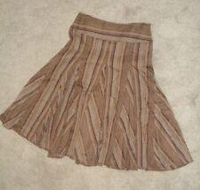 Knee Length Cotton Blend Regular Size NEXT Skirts for Women