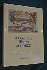 A CENTENARY OF NORCO 1895-1995 MAURICE RYAN H/B D/J DEDICATION FROM BOARD