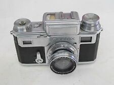 """RARE Contax RF rangefinder model III with lens, out of a large collection """"LQQK"""""""