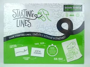 Parent Psych Starting Lines Game - Educational, STEAM - New in Box