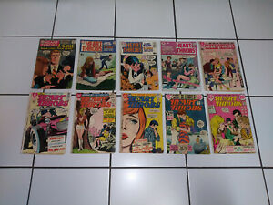 Heart Throbs - DC Comics - Romance - Dating - BIG Lot - LOW Price - Vintage