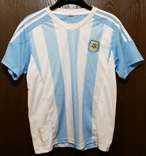 Blue & White Argentina National Team Soccer Futbol Jersey Youth Large 26