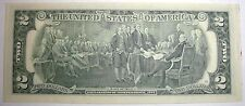 1976 US 2 Dollar Bill, Two Dollars. UNC