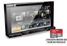 "Evus DD418R Autoradio 2Din 6.2"" Bluetooth CD/DVD USB GPS + microSD GRATIS"