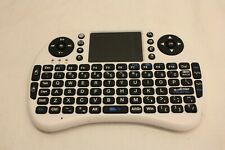 IPAZZPORT BLUETOOTH MINI WIRELESS KEYBOARD TOUCHPAD MOUSE BACKLIT ANDROID TV PC