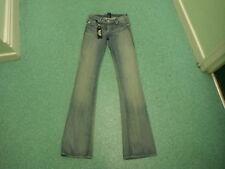 "V Beckham Rock & repulic Bootcut Jeans W25"" L37"" Faded Medium Blue Damen Jeans"