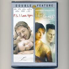 2 romance movies P.S. I Love You & The Lake House, new DVDs PG-13 Swank, Bullock