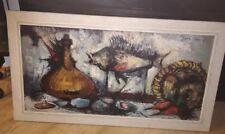 Didier Grandt Nature Morte design Gemälde 60er Jahre mid century 60s Pop-Art