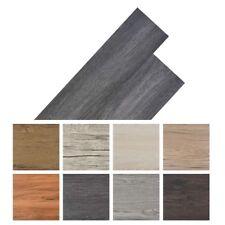 vidaXL Self-adhesive PVC Flooring Planks 5.02 m Black and White