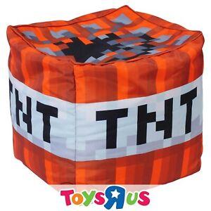 Minecraft TNT Cube Bean Bag Cover